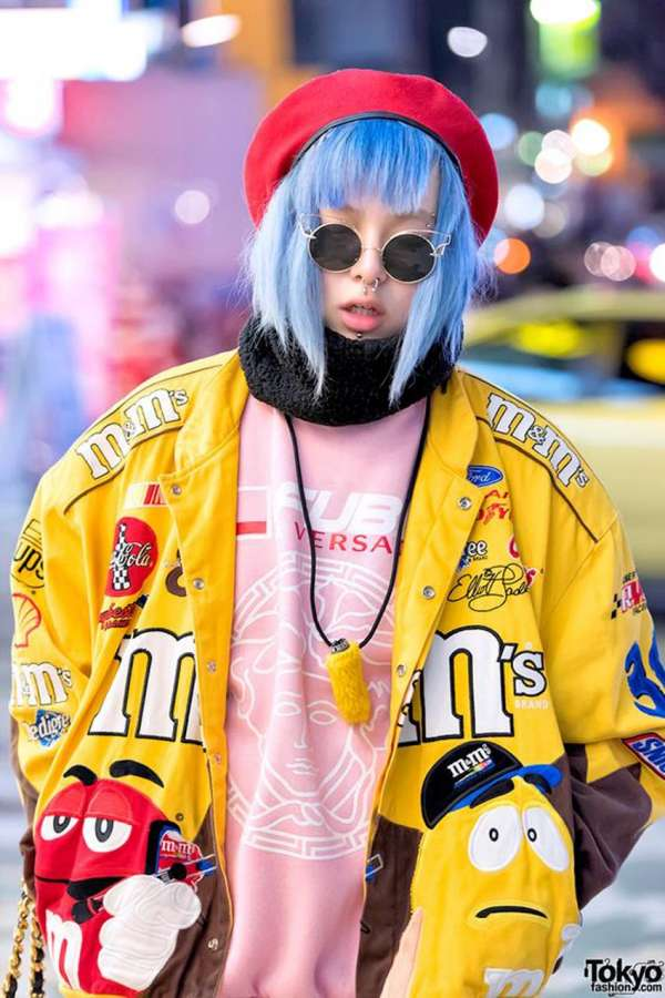 Harajuku Style Fruits Magazine 果物 Tribu Te Hair Magazine