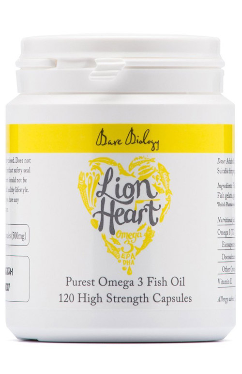 Lion heart omega 3 for Does fish oil lower triglycerides