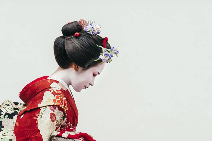 What is the geisha hairstyle